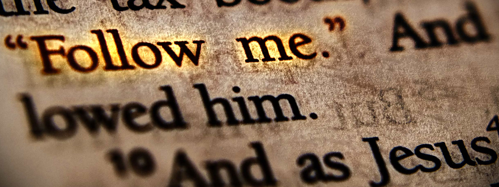 """""""Follow Me"""" was God's way of showing amazing Grace."""